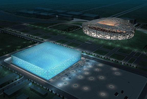 Beijing's Water Cube