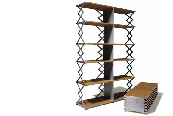 Thut Möbel Scissor Shelf Unit