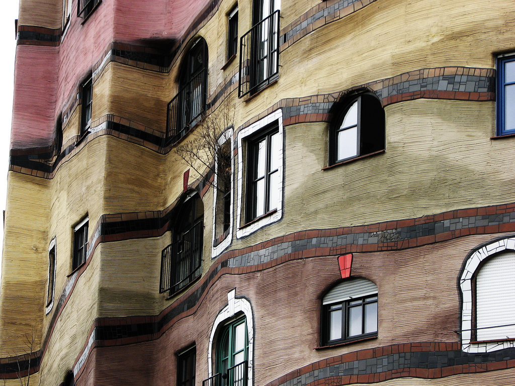 Waldspirale The Apartment Building Of  Different Windows - Cool apartment buildings