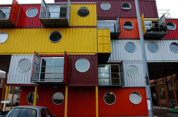 Cool Container Houses: Container City