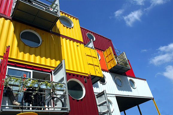 5 Cool Buildings Made of Shipping Containers