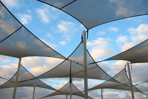 Cool Coolaroo Shade Sails