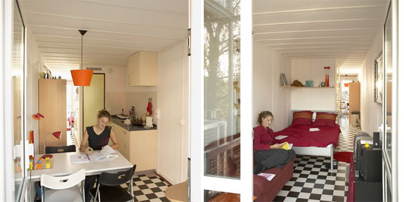 Cool Container Houses: Keetwonen