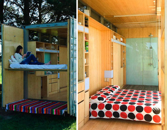Cool Container Houses: Port-A-Bach