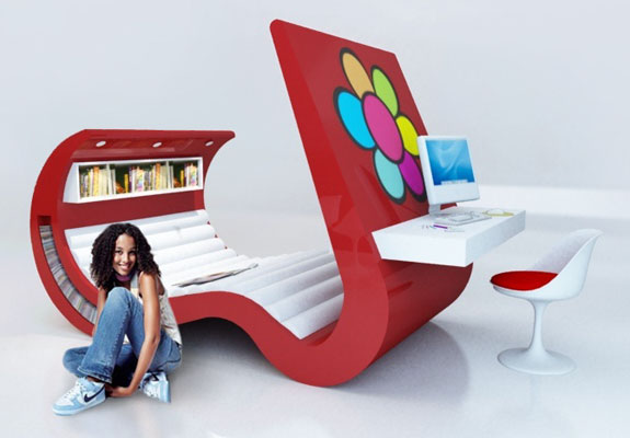 Wave Chaise | Spot Cool Stuff: Design