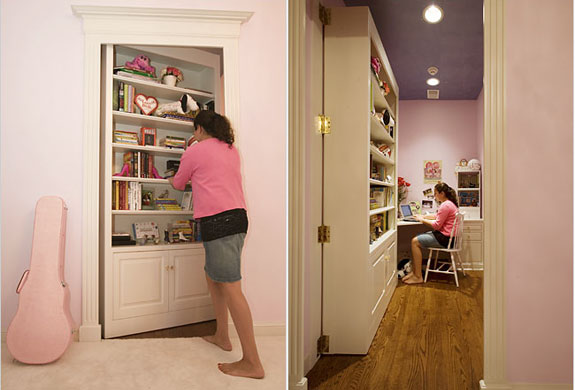 Add a hidden door to your house