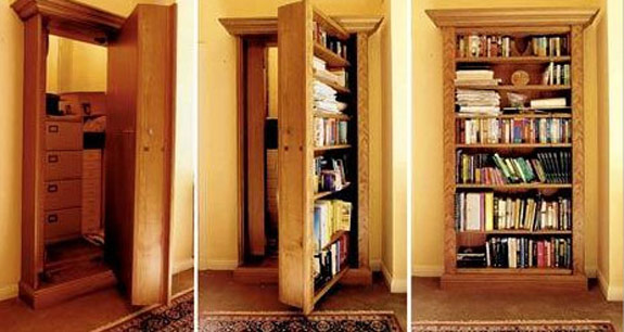 Add a hidden door to your house ... & Hidden Doors and Secret Passageways For Your House | Spot Cool Stuff ...