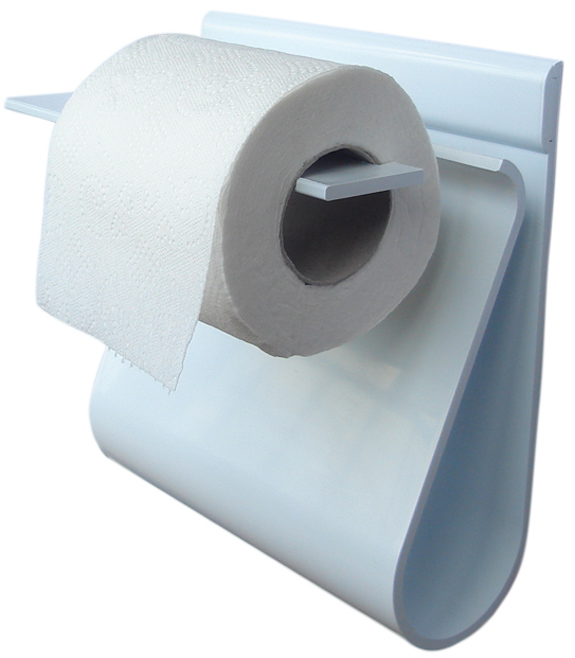 Read And Roll Toilet Paper Holder