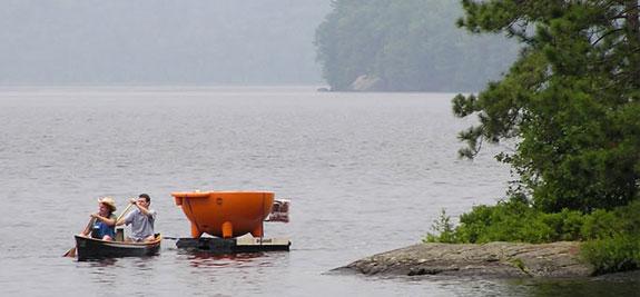 Luxury Camping: The Dutchtub portable wood burning spa