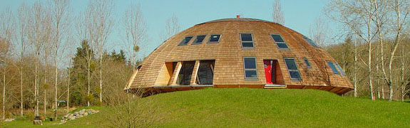 Best of Design Blog: Rotating dome homes