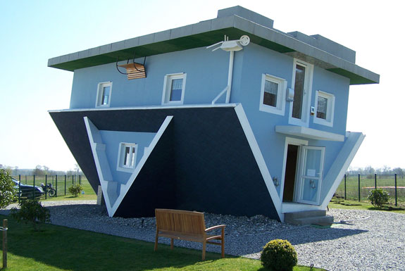 Design Blog: Upside Down House, Usedom, Germany
