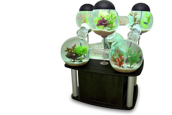 9 cool home aquariums - Cool House Accessories