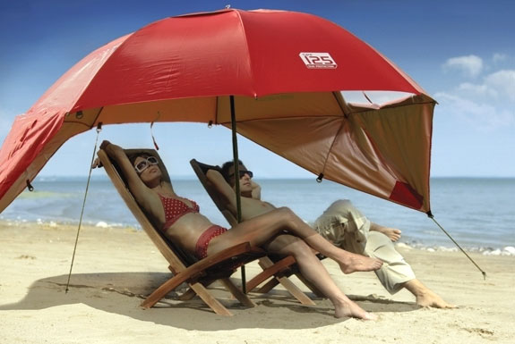 A Better, Portable Beach Umbrella