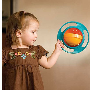 Loopa Gyroscope Baby and Toddler Bowl