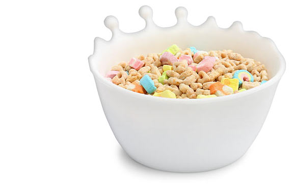 3 High-Design Cereal Bowls <br />For Kids