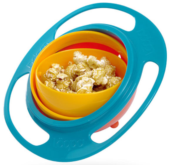 High Design Bowls For Kids: Loopa Gyroscope Bowl