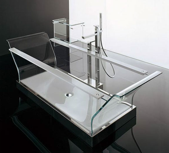 Cool Clear Bathtubs: Novellini Cristalli
