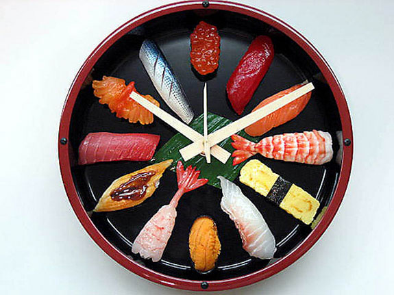 Non-Edible Sushi Products: Sushi Clock