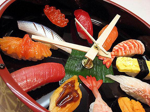 Non-Edible Sushi Products: Sushi Clock