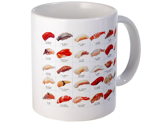 Non-Edible Sushi Products: Mug
