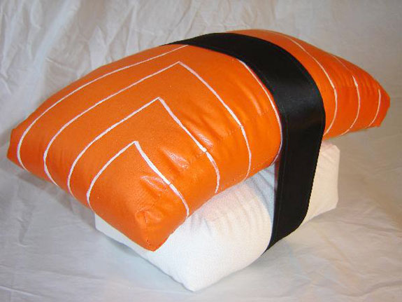 Non-Edible Sushi Products: Sushi Pillows