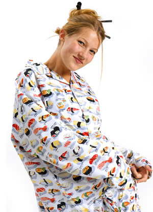 Non-Edible Sushi Products: Sushi Pajamas