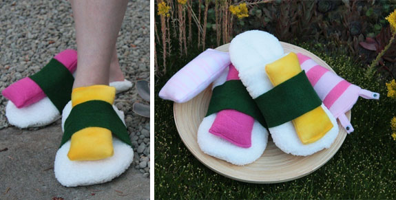 Non-Edible Sushi Products: Slippers