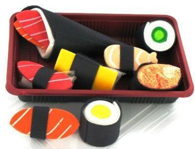 Non-Edible Sushi Products: Sushi Soap Bento Box