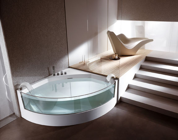 Clear Bathtubs: Teuco clearVIEW
