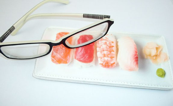 Sushi Eyeglasses Case