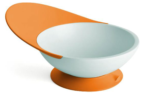 Creative Kids Cereal Bowls: Boon Catch Bowl