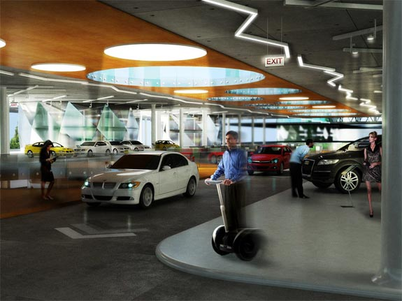 World's Largest Car Dealership: Autopia, Istanbul, Turkey
