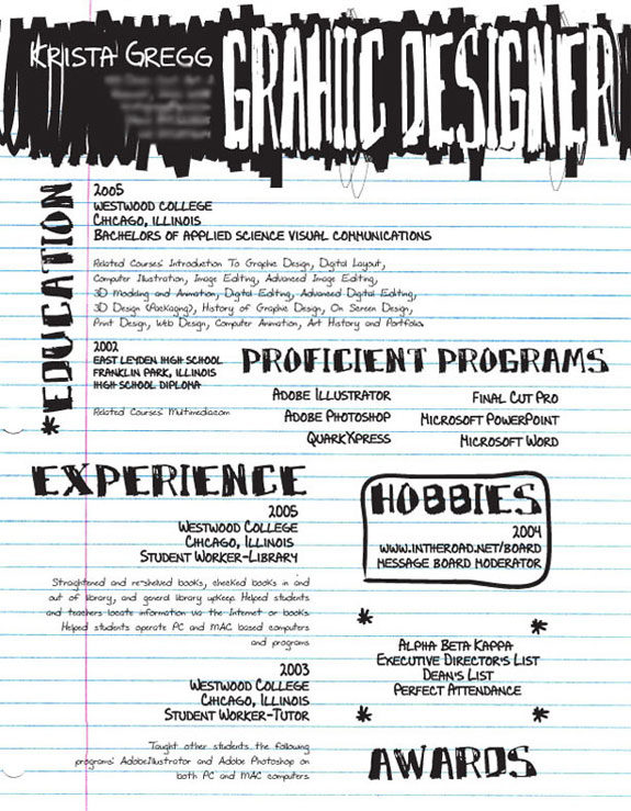 Amazing Resumes: Pen & Ink