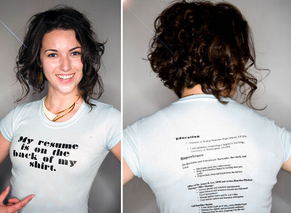 Amazing Resumes: T-Shirt