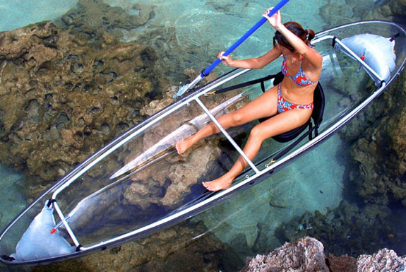 The Transparent Canoe
