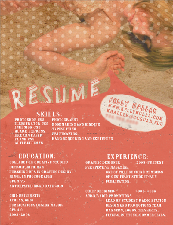 Cool and Creative Resumes: Artistic