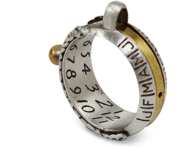 Geeky Jewelry: Sundial Ring