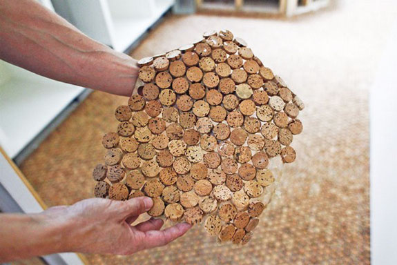 Recycled, Alternative Flooring: Cork