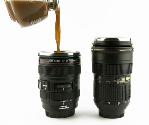 Cool Gifts for Photographers: Canon Camera Mug