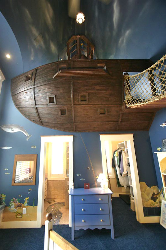 Cool Interior Design: Kuhl Pirate Bedroom