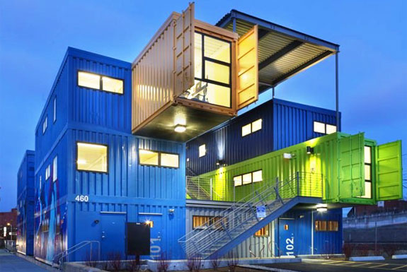 The Shipping Container Box Office