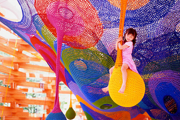7 Cool, Creative Playgrounds