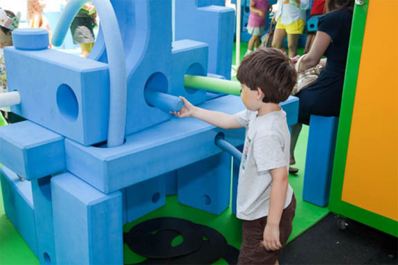 Best Playgrounds: Imagination Playground, New York City