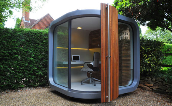 Cool Design: OfficePOD, Pre-Fab Backyard Office
