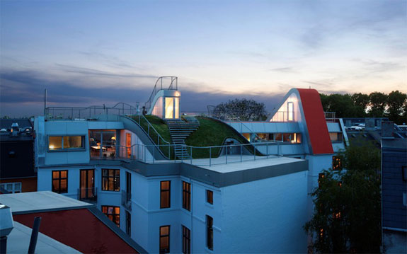 Cool Architecture: Rooftop Playground, Copenhagen