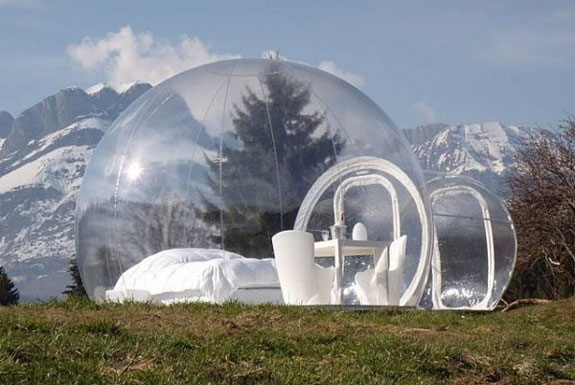 bubble architecture m Bubble Tree: Glorified Tents for Glamping