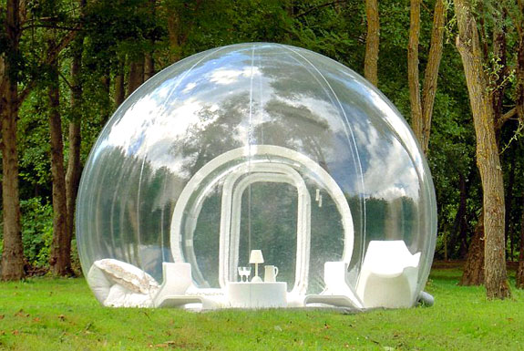 bubble architecture m1 Bubble Tree: Glorified Tents for Glamping