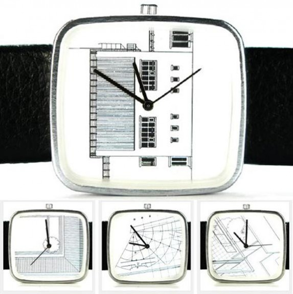 Attractive Cool Gifts For Architecture Lovers: Architect Wrist Watches ...