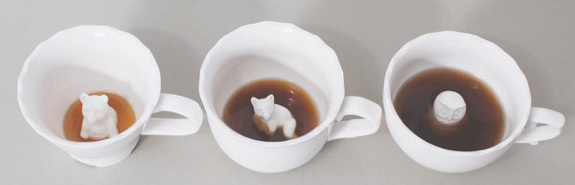 Hidden Animal Mugs & Teacups
