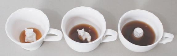Hidden Animal Mugs & Teacups